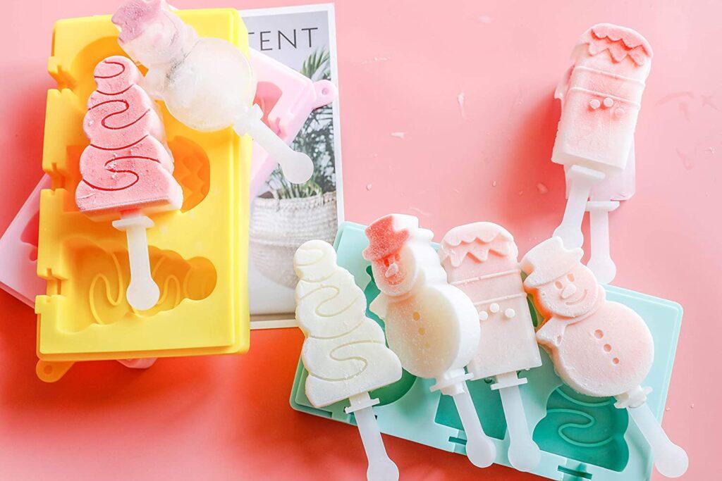 helados con formas