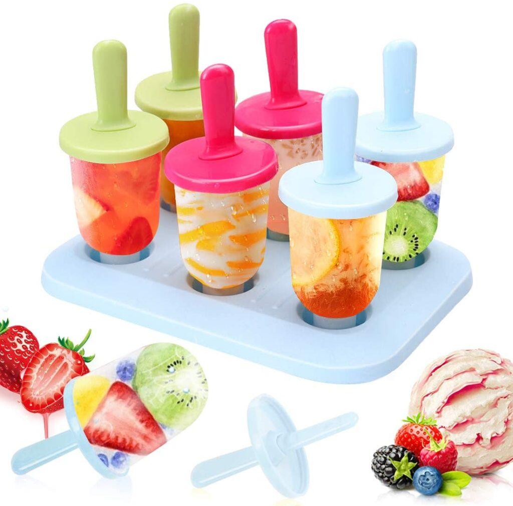 molde de helados para niños