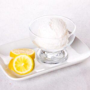 Cómo hacer helado de limón casero