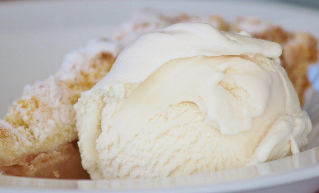 Receta de helado de vainilla casero
